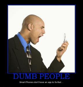 """Why Some People Stick To Their """"stupid"""" Phones"""