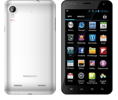Karbonn A30 Vs Samsung Galaxy Note 2